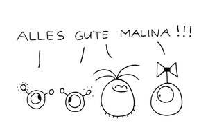 Alles gute Malina by Jompie