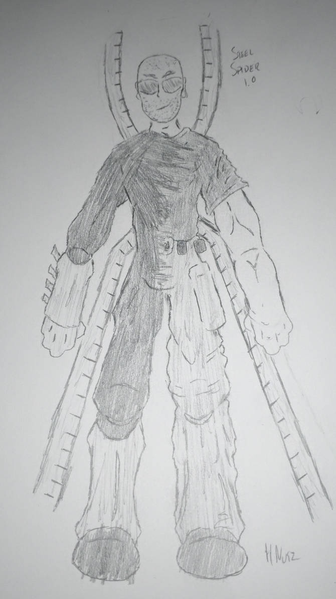 Steel Spider (Spider-Verse Draft)