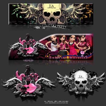 AudiFraternitySor Logos by kristeli10