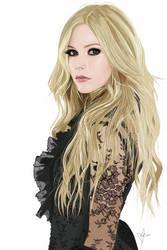 Avril Lavigne Vexel by kristeli10