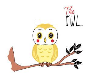The Owl (based on children book illustration)