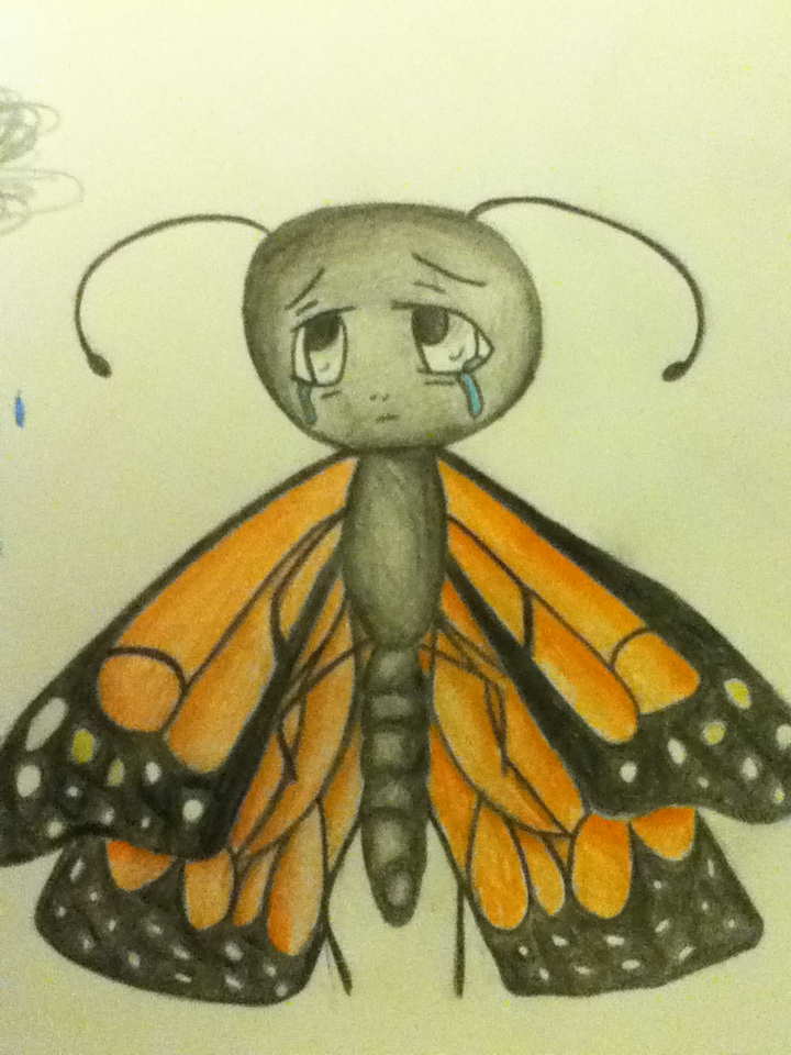 Cute insect drawing - photo#5