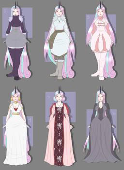 Celeste Has Too Many Outfits