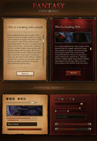 Fantasy Info Boxes 2.0 by KodiakGraphics