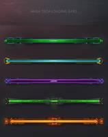High Tech Loading Bars by KodiakGraphics
