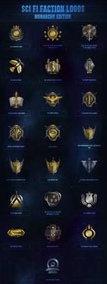 Sci-Fi Faction Logos - Monarchy Edition