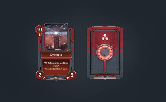 Echo Sci-Fi Card