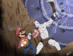 Mario vs Kratos