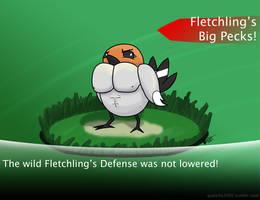 Fletchling's Big Pecks by godzilla3092