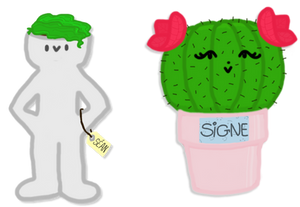 Sean and Signe - Grayson and Cactus