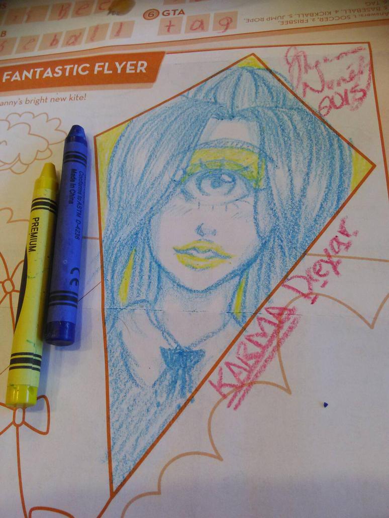 Crayon Cyclops by karma-dreyar16