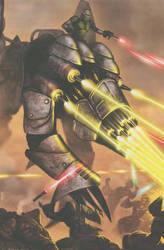 Basilisk War Droid vs. Jedi