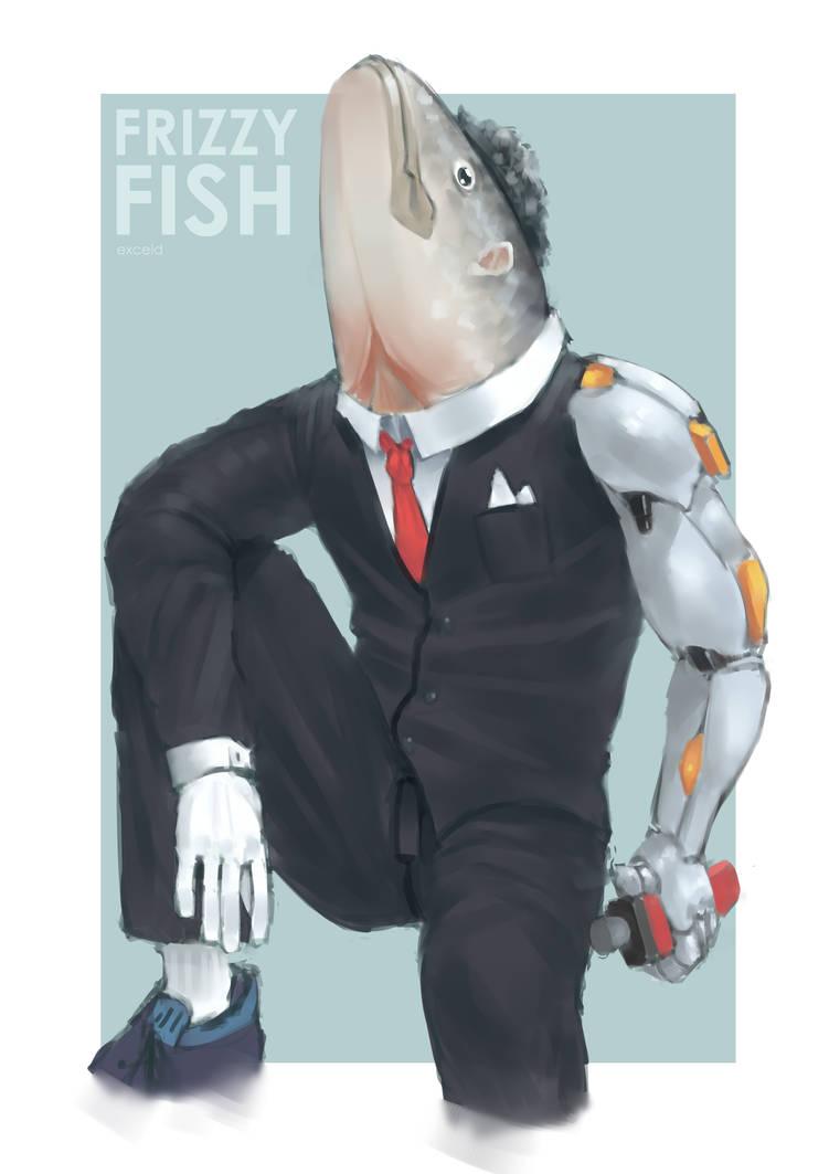Frizzy Fish