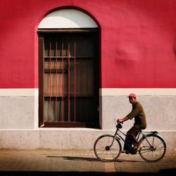 a window and an oldman by iqbalnugraha