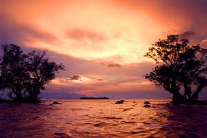 sunset in umang 2 by iqbalnugraha