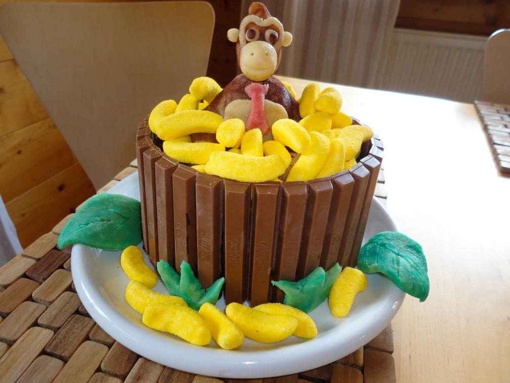 How To Make Donkey Kong Banana Cake