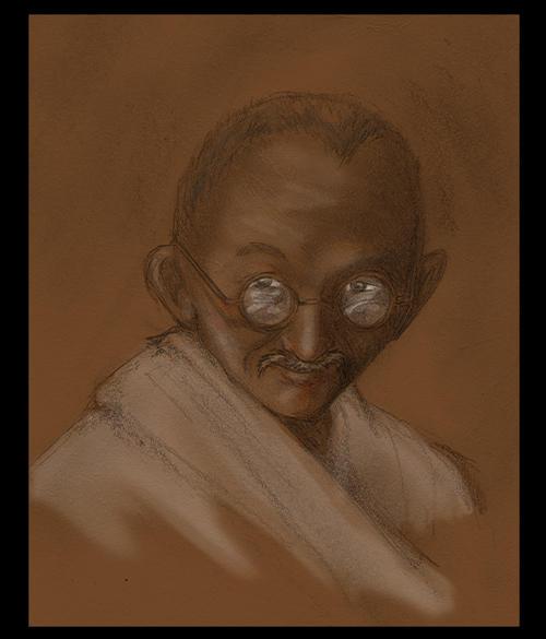 -Gandhi- by trisis