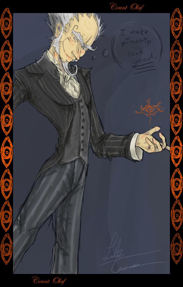 DeviantArt: More Like portrait of count olaf by shoze