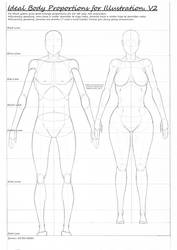 Ideal proportions for Illustration.