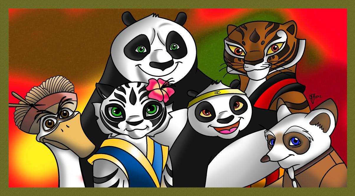 kung fu panda tigress and po love - animalcarecollege