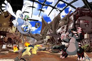 Battle in A.D 2172