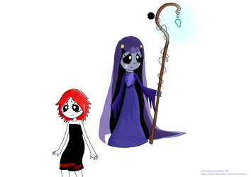Ruby and Misery (No background)