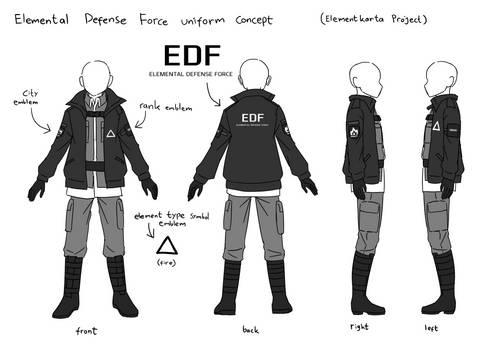 Elemental Defense Force uniform 18 04 2021