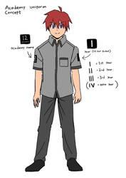 Elementkarta academy uniform concept