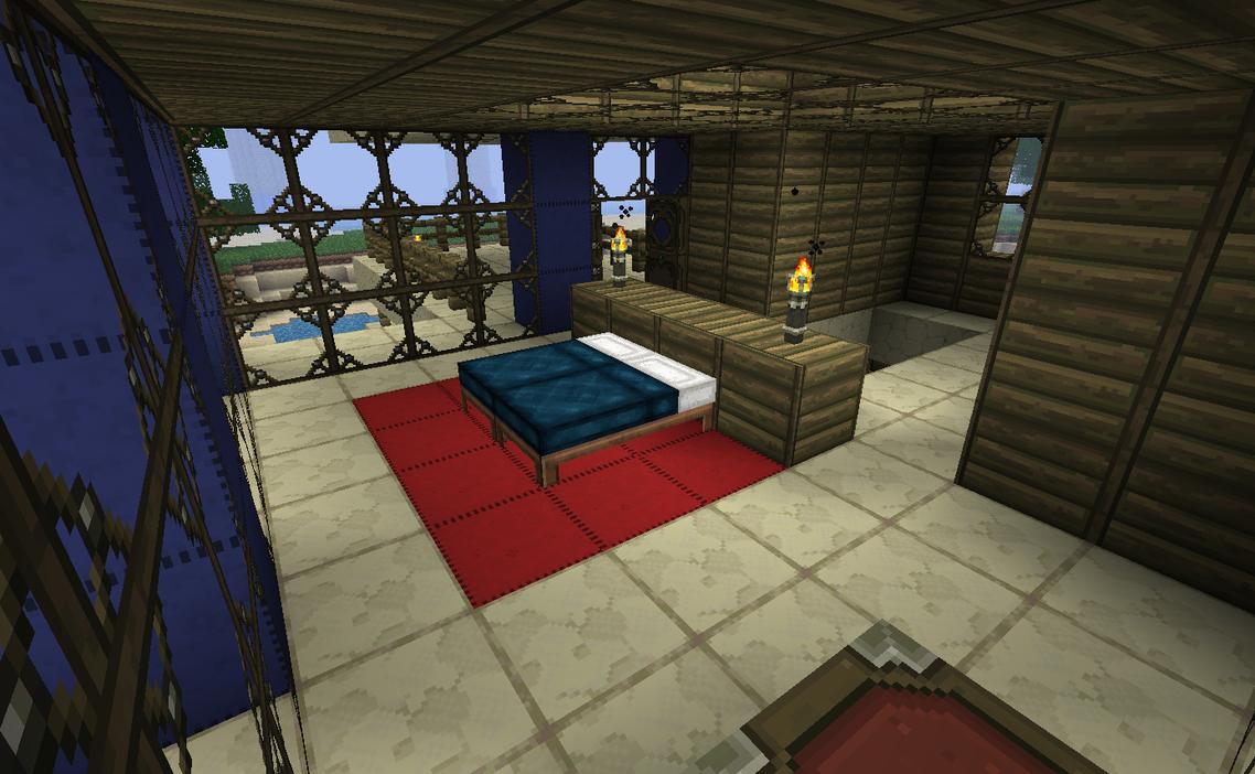 Sunset Point Bedroom By Kyidyl Minecraft On Deviantart