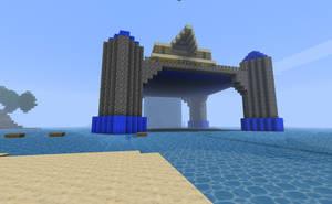 Platform House Exterior by kyidyl-minecraft