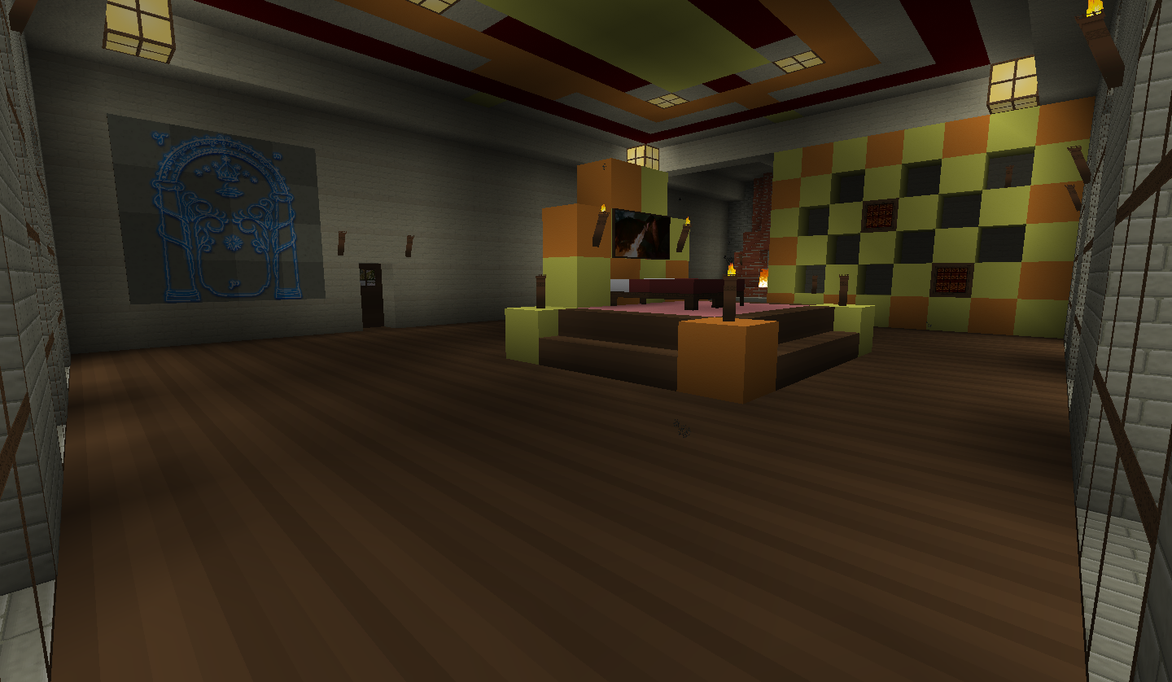 Queen And King 39 S Bedroom By Kyidyl Minecraft On DeviantArt