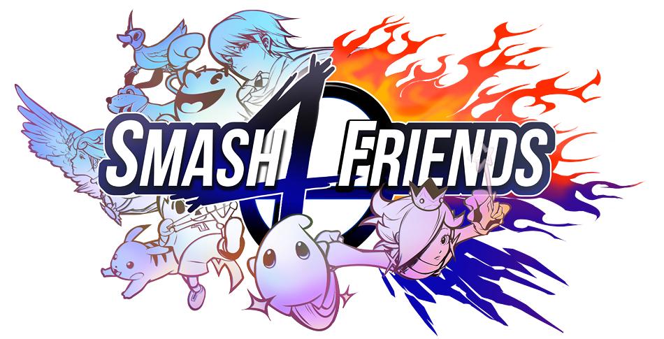Smash4Friends Logo by J00se