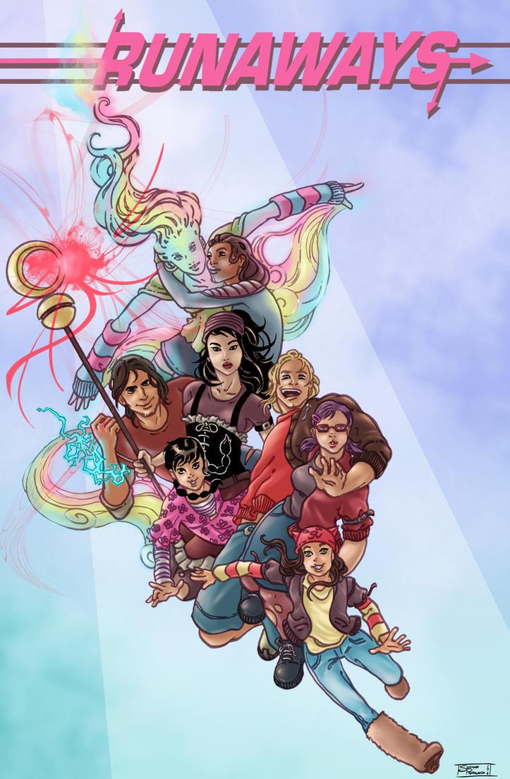 Best Wallpaper Marvel Runaways - marvel_runaways_by_solquest-d6a9rlb  Photograph_743418.jpg