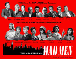 Mad Men ...as a 1960s Drama by Therese-B
