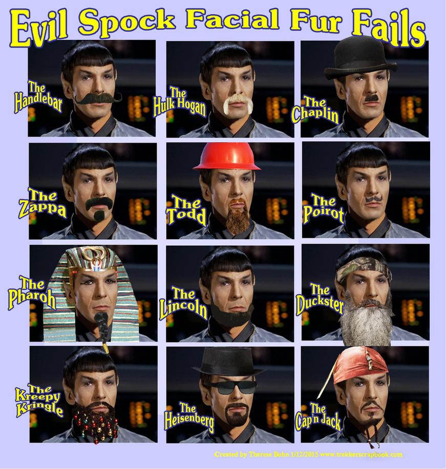 Evil Spock beard fails by Therese-B