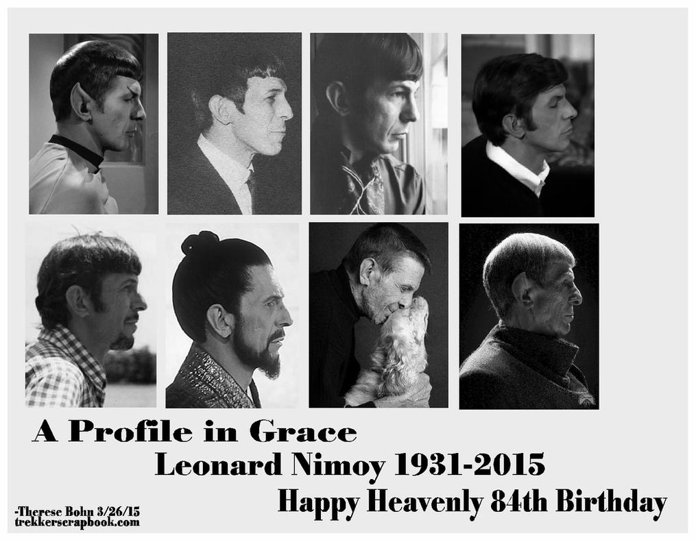 Heavenly 84th Birthday, Leonard Nimoy by Therese-B