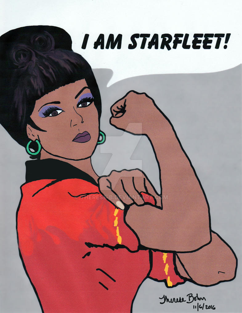 Uhura can do it by Therese-B