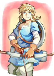 LINK(BOTW) by zipskyblue
