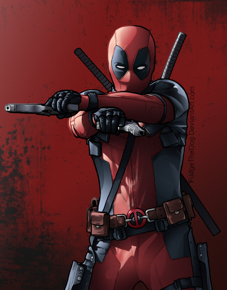 Oh, Hey, It's Deadpool by FudgeTheDog