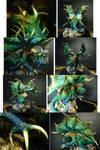 The Dragon Azul Collage