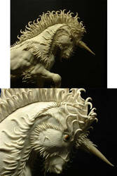 Alpha Unicorn Detail by jshapeshifter