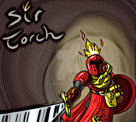 Sir Torch Drawing 2 Cartoon Complete