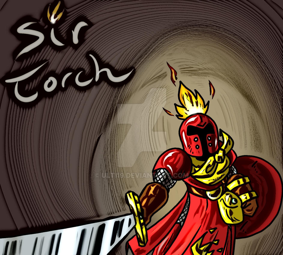 Sir Torch Drawing 2 Cartoon Complete by ulti19