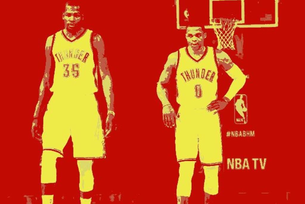 Durant and Westbrook breakup