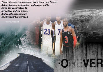 The Brotherhood (LBJ, D-Wade, Melo and CP3) by NBA-Scholar