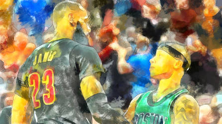 LeBron James vs. Isaiah Thomas by NBA-Scholar