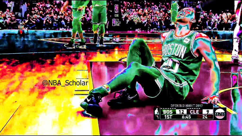 Hayward burning pain: end of Celtics dream @Game 1
