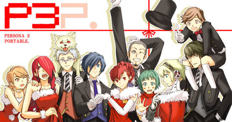 Persona 3 Portable merry x-mas  and thank you all