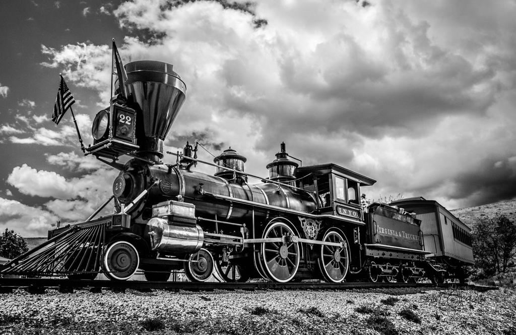 Riding the Rails by StephGabler