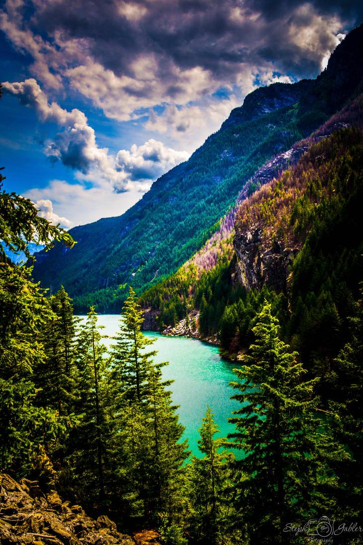 SGPhoto-N.Cascades NP Diablo lake by StephGabler